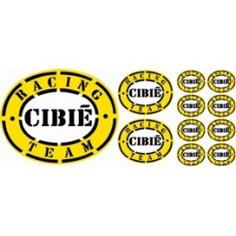 11 Stickers Cibié