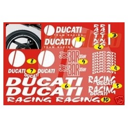 Pack Stickers - Kit déco Ducati