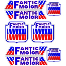 Planche stickers Fantic