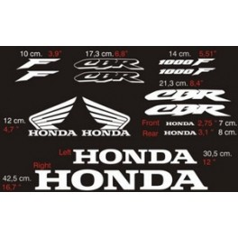 Stickers honda cbr 1000 f kamos sticker for Deco 600 cbr
