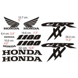 Kit deco Honda 1100 CBR/XX