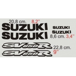 Kit deco Suzuki SV 650 2001 custom