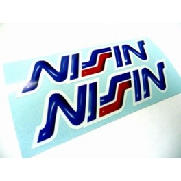 2 Stickers Nissin