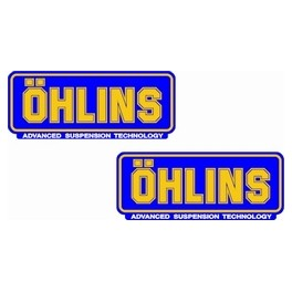 2 stickers OHLINS