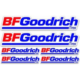 6 stickers BF Goodrich