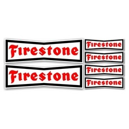 Planche Stickers Firestone