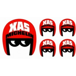 5 Stickers XAS Michelin