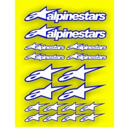 Planche Stickers Alpinestar
